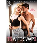 TS female caressed by topless male TS wife swap