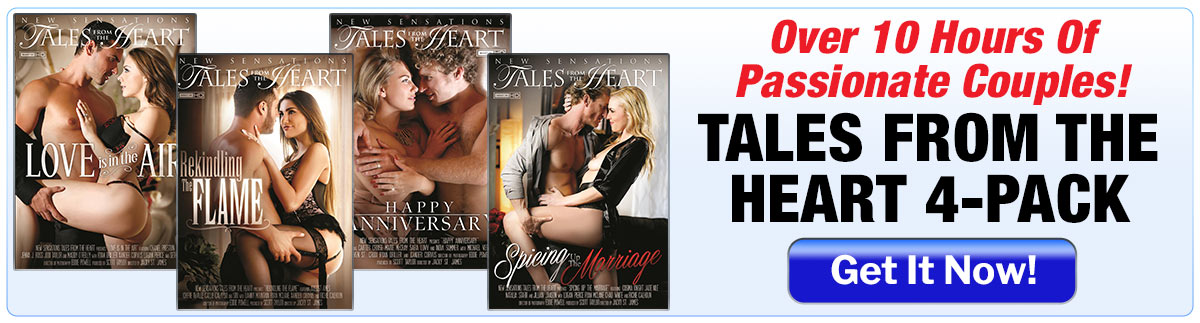 Tales From The Heart 4 Pack  --  Over 10 Hours Of Passionate Couples!