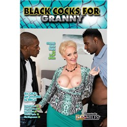 Blonde female displaying breasts caressing two males