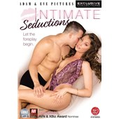 Topless male caressing female wearing lingerie intimate seductions