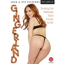 Re haired female wearing lingerie posed displaying buttocks gingerland