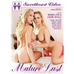 Two nude blondes caressing mature lust