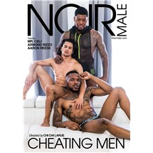 Three topless males posed caressing cheating men