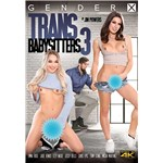 Two TS females displaying penis with male on looker trans babysitter