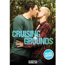 Two clothed men kissing cruising grounds