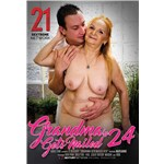 Blonde female nude caressed by nude male grandma gets nailed