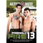 Two males posed topless active duty friendly fire